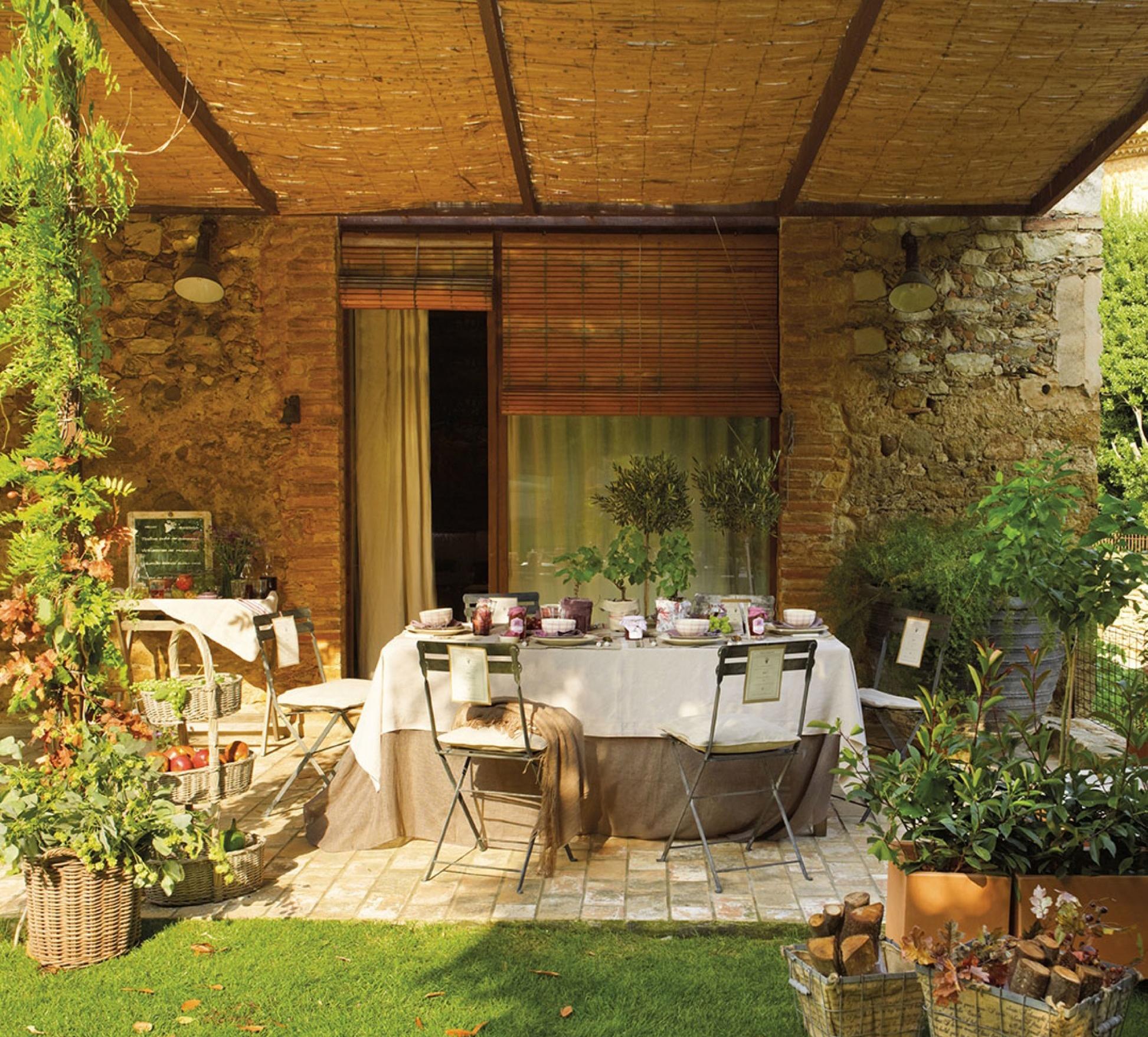 Estos jardines tienen ganas de fiesta - Sillas de porche ...