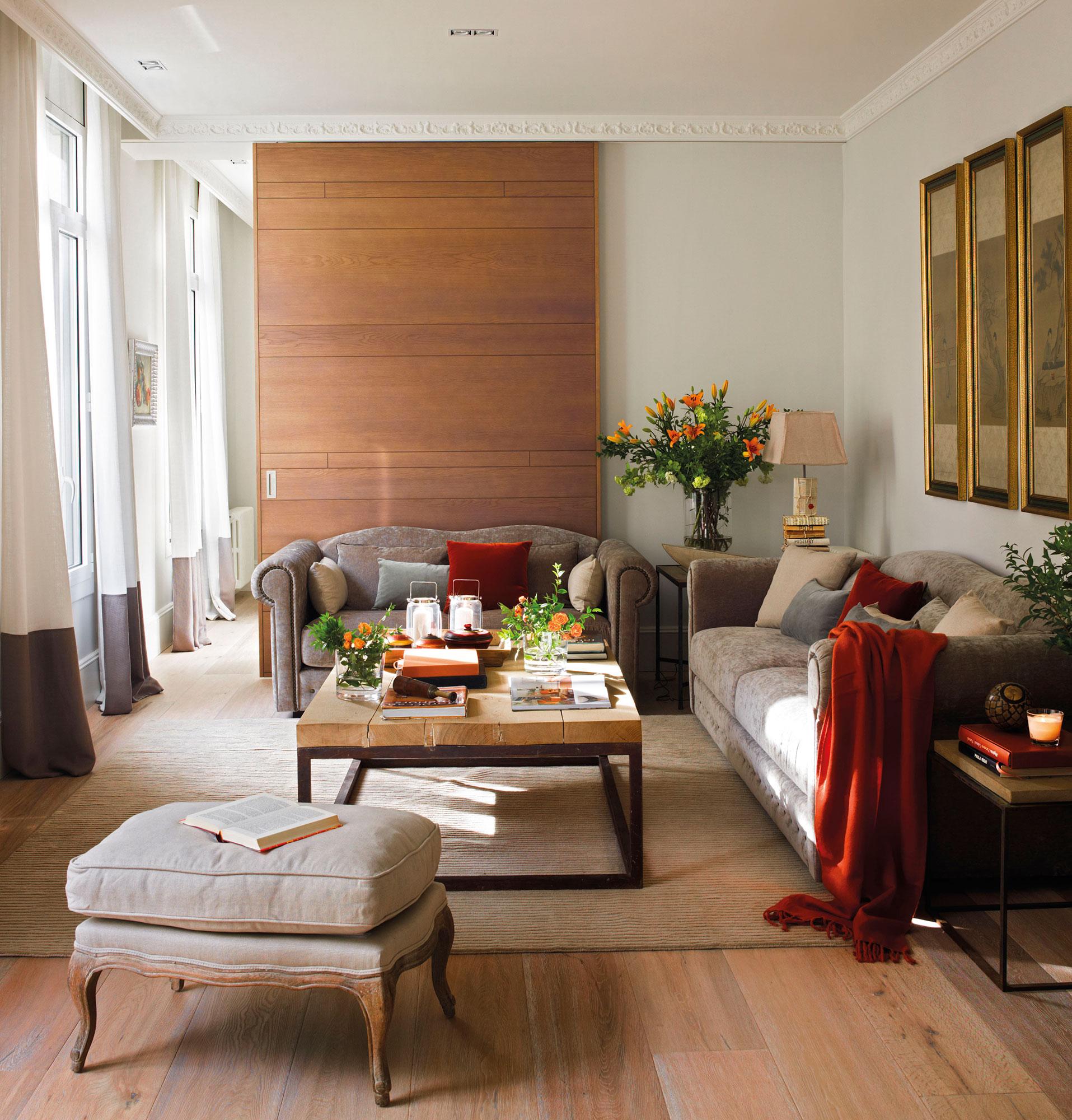 instala una puerta corredera en casa y gana 1 5 m2 reales On salones de pisos decorados