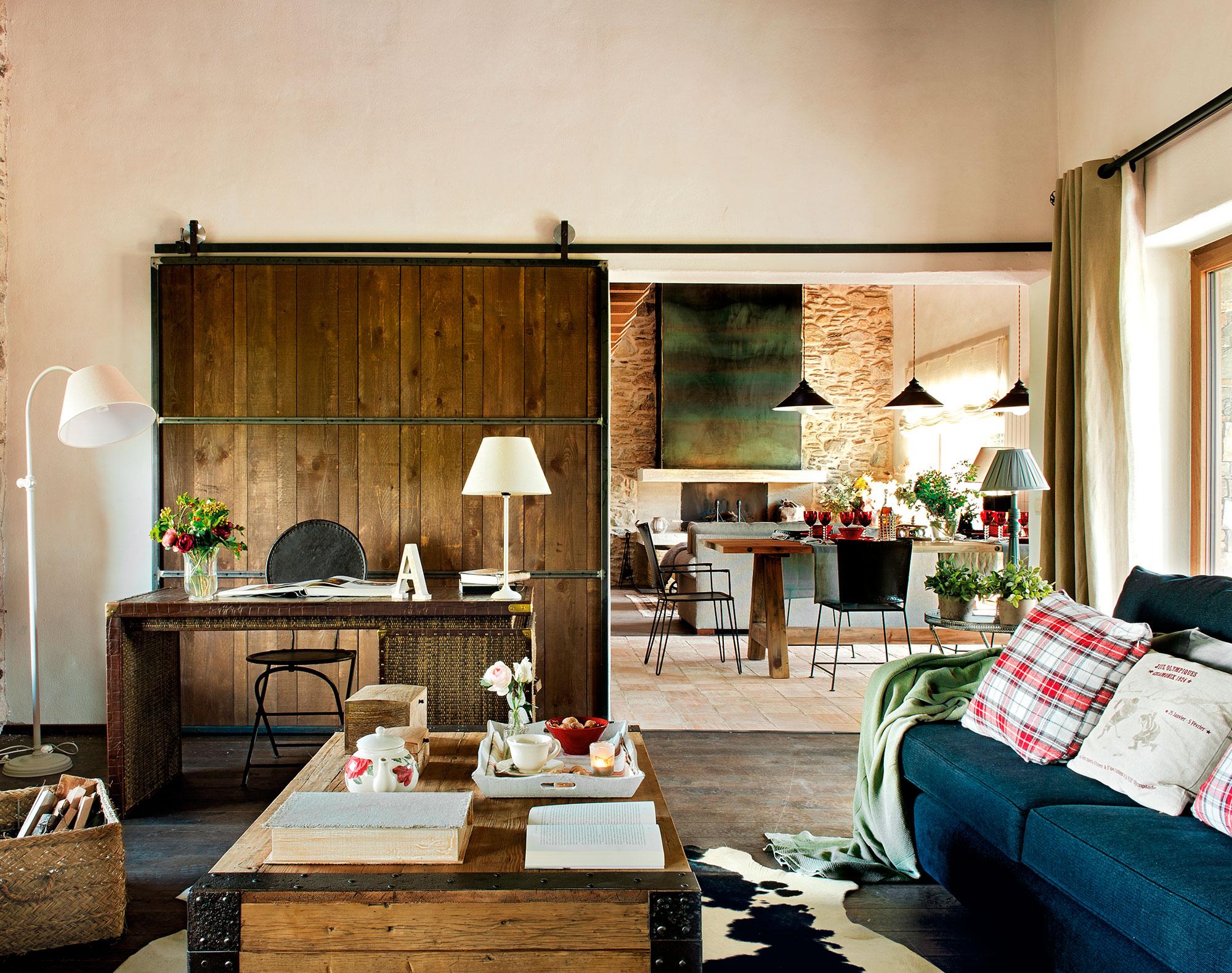 Instala una puerta corredera en casa y gana 1 5 m2 reales for Desarrollar una gran sala de estar
