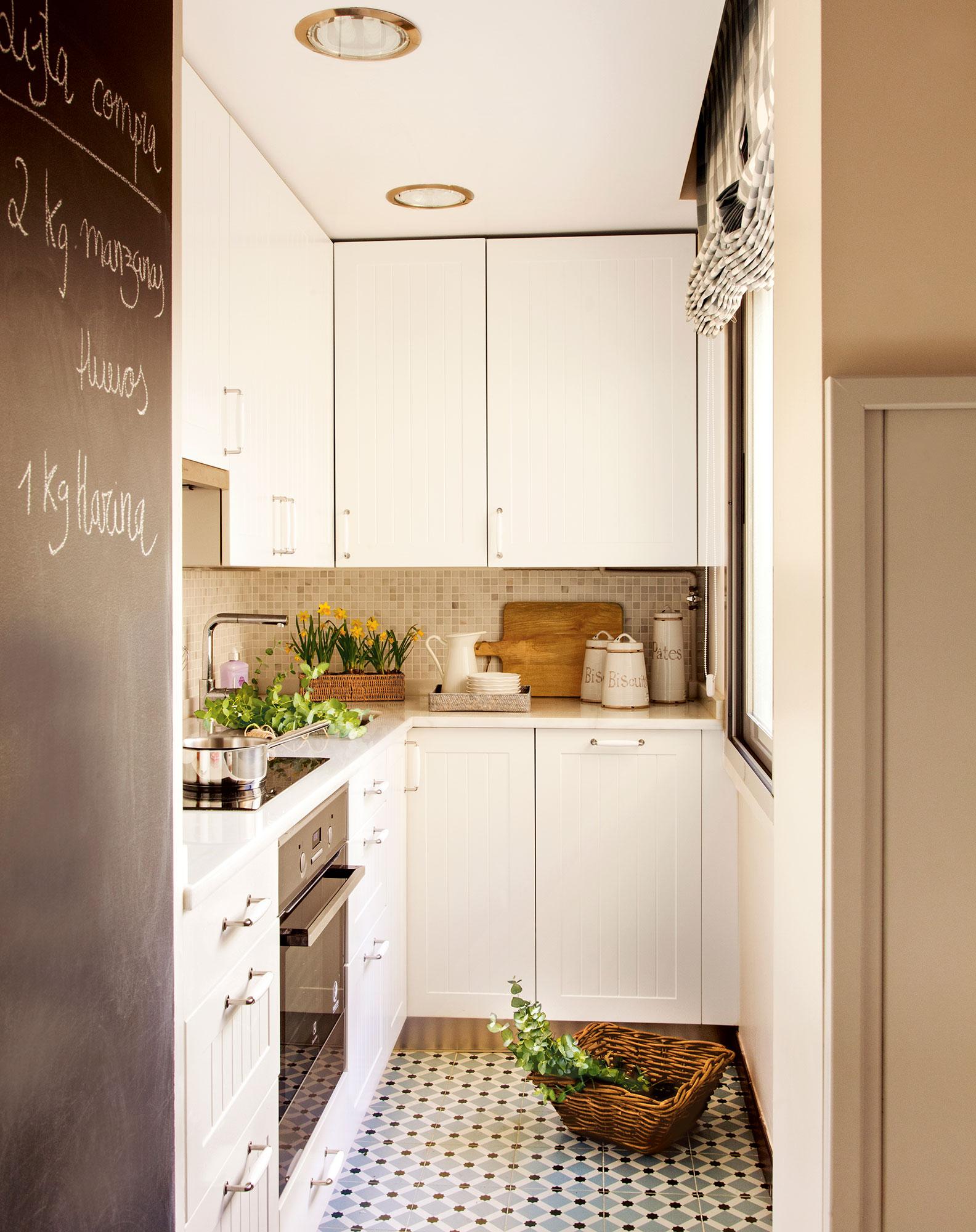 Ideas para aprovechar el espacio en las cocinas peque as for Ideas para muebles de cocina