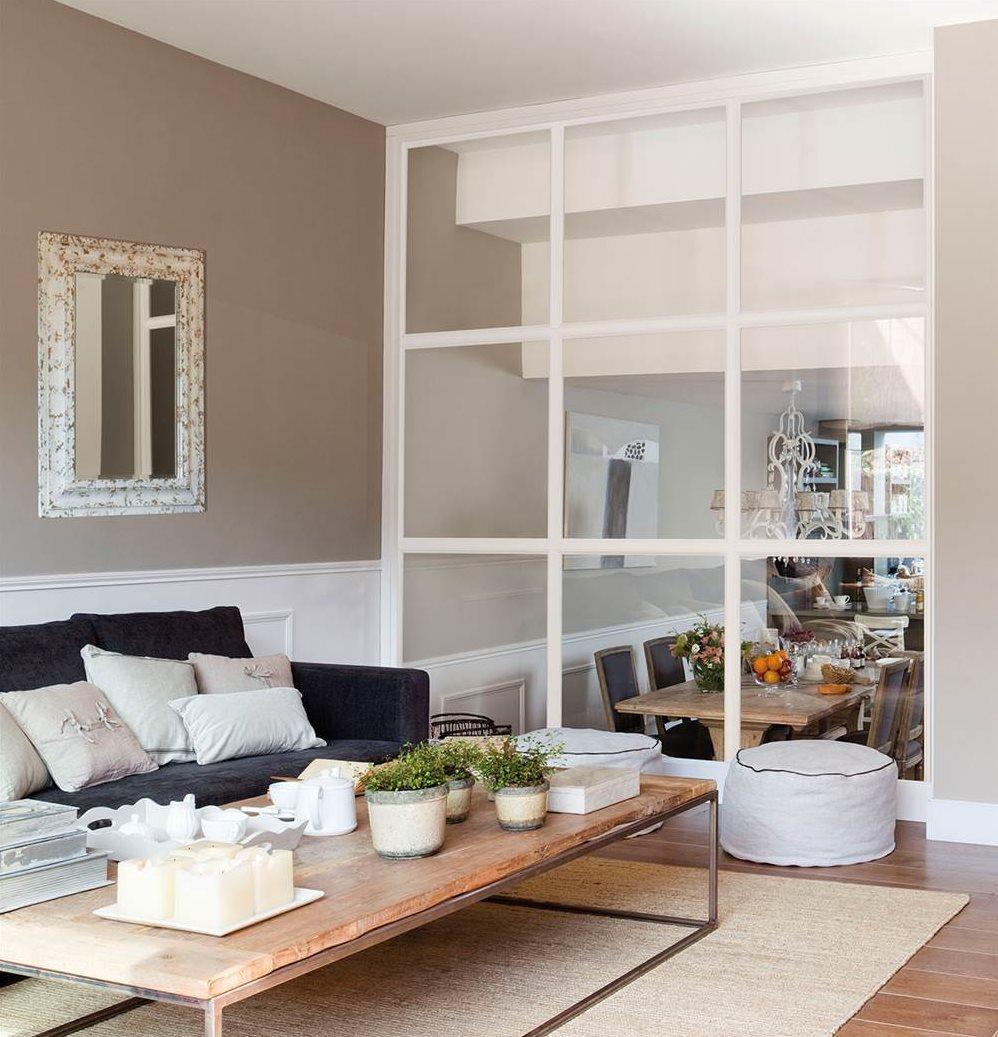 Cocina salon separados cristal porta de vidro de correr - Cocina salon separados cristal ...