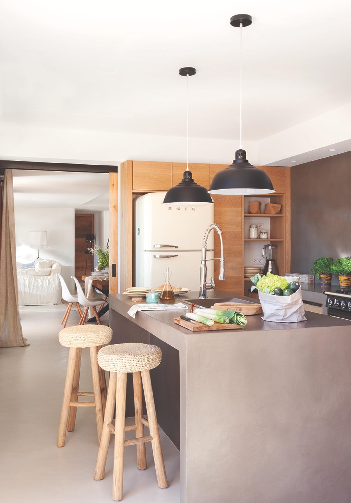 Casa de vacaciones con estilo ibicenco playero y toques de l\'Empordà