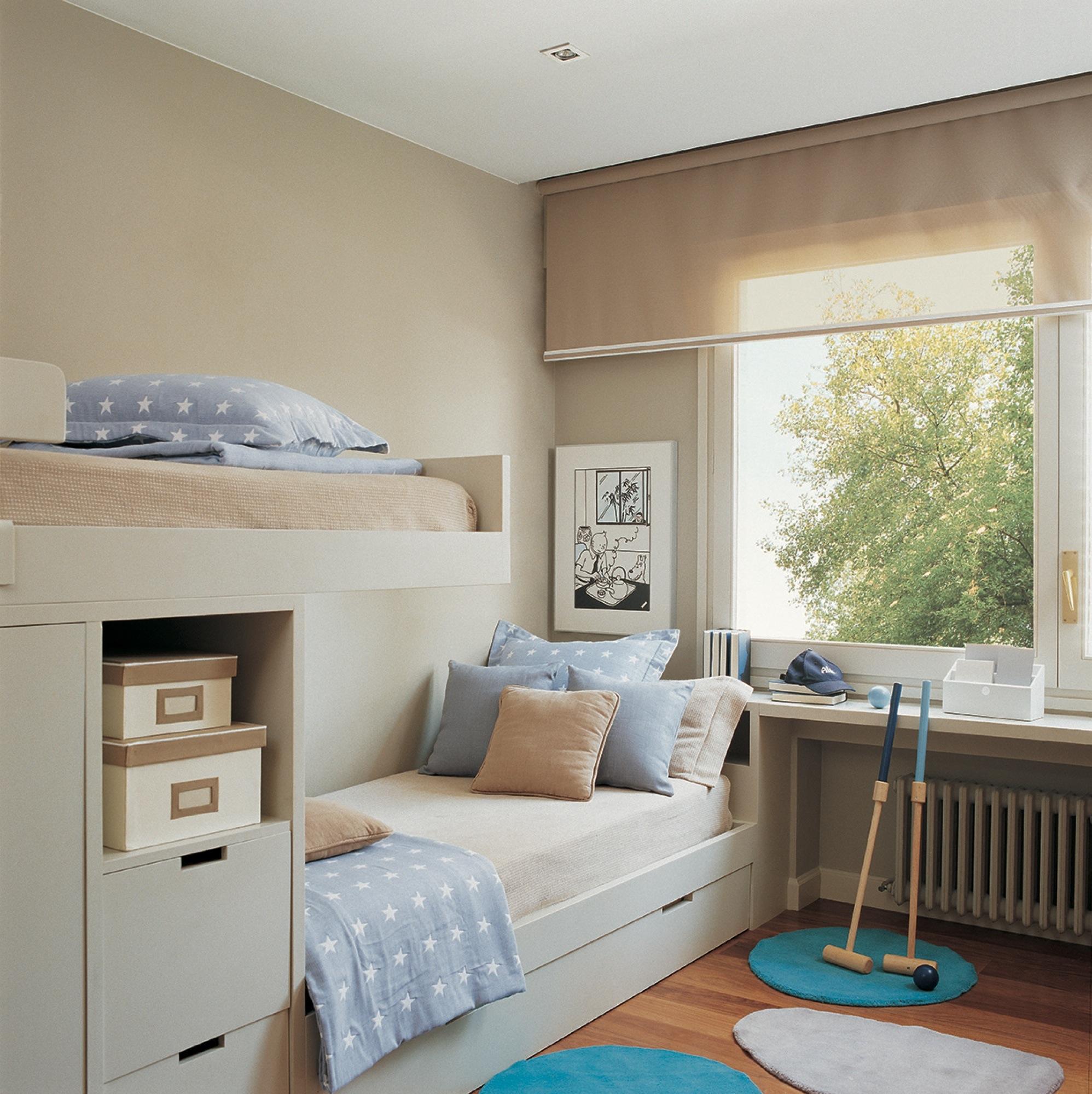 Cortinas claves para elegir el sistema m s pr ctico sin - El mueble habitaciones juveniles ...