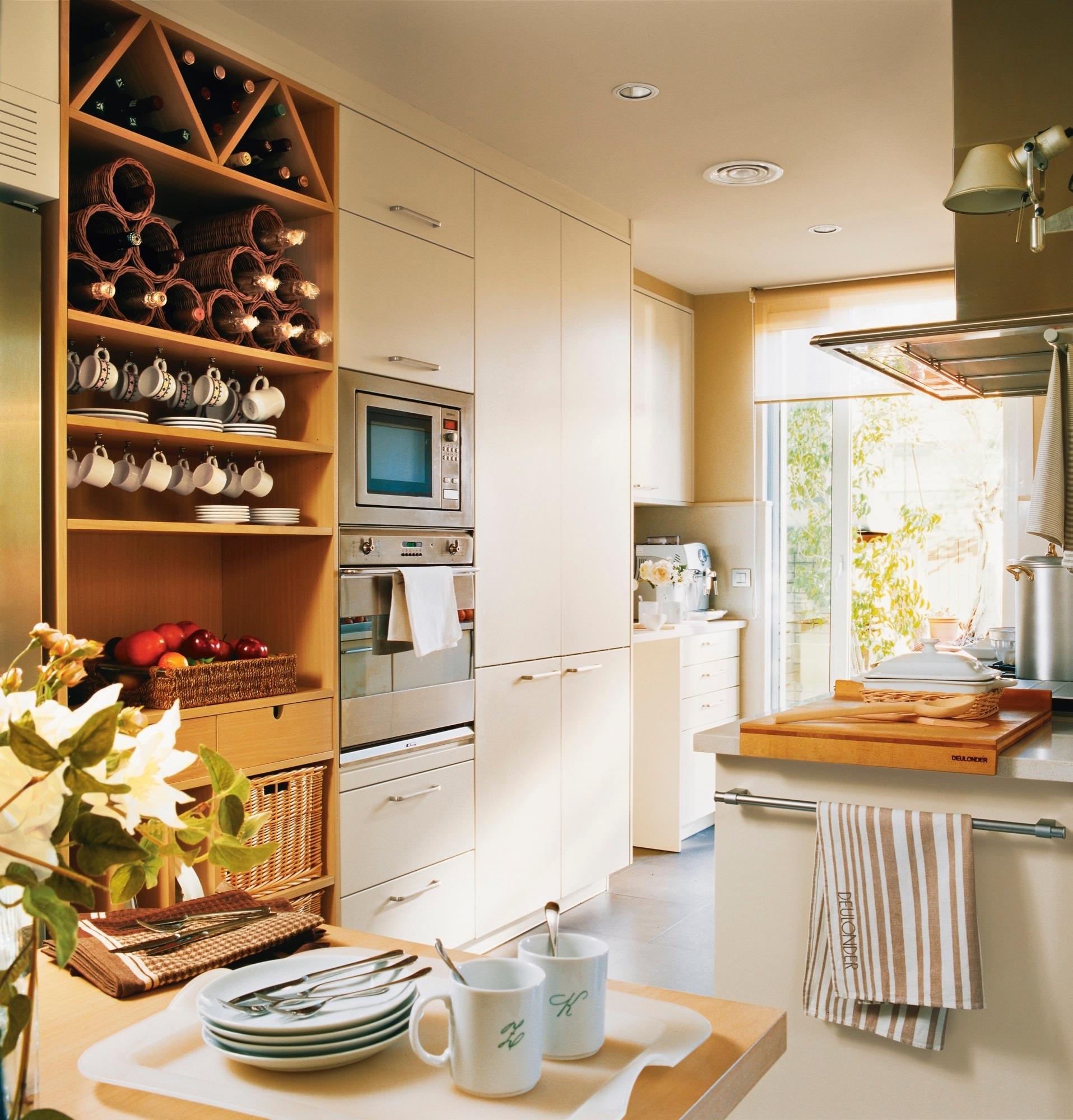 Orden en la cocina consejos y trucos para guardarlo todo - Cajoneras de cocina ...