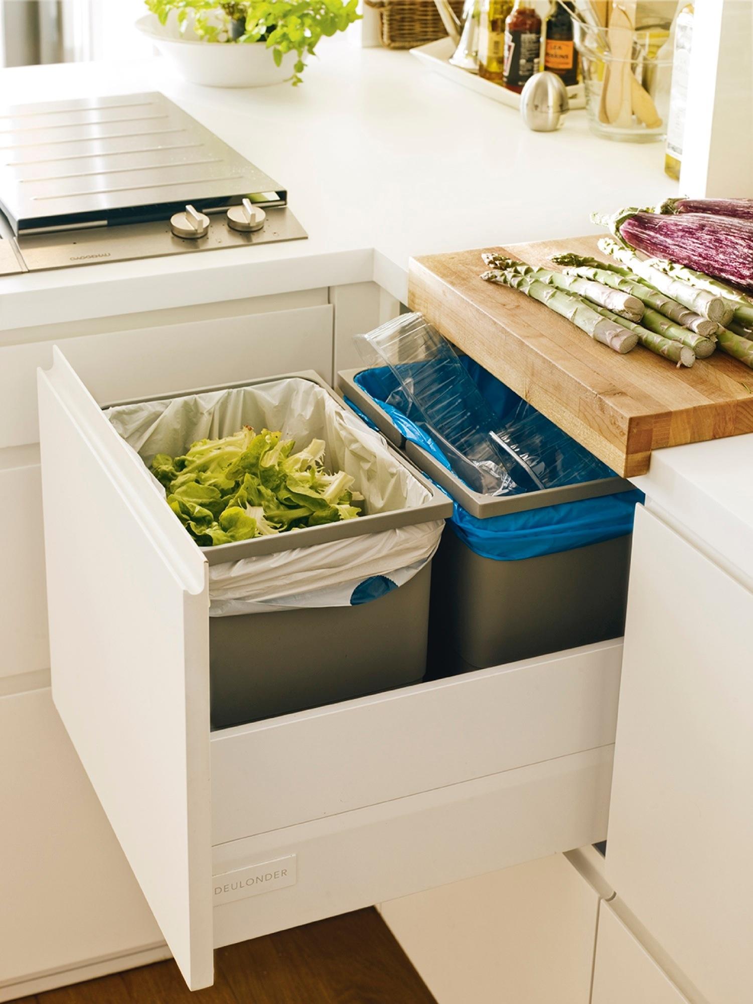 Orden en la cocina consejos y trucos para guardarlo todo for Cocina con vitroceramica