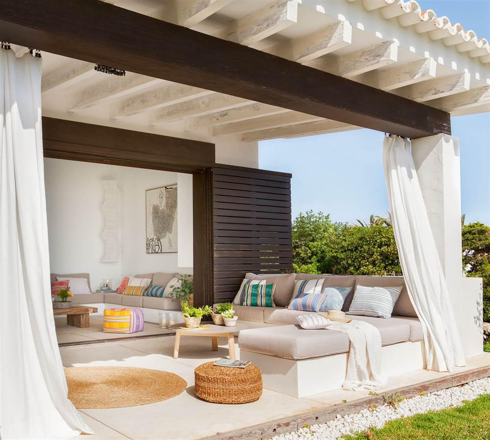 Galer a especial siestas 15 exteriores de ensue o for Cortinas para terrazas exteriores