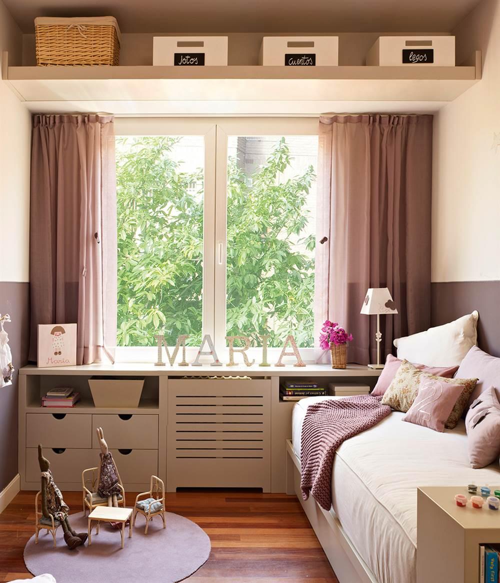 Ideas con muebles a medida para aprovechar rincones dif ciles for Dormitorio para 4 personas