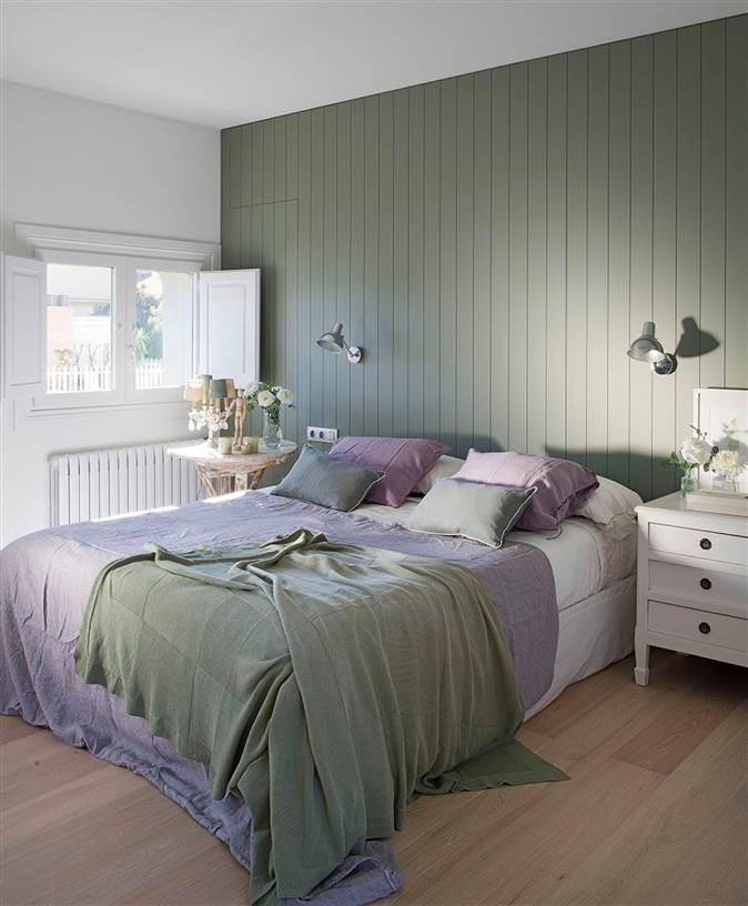 10 claves para pintar la casa como un profesional - Pintar dormitorio principal ...