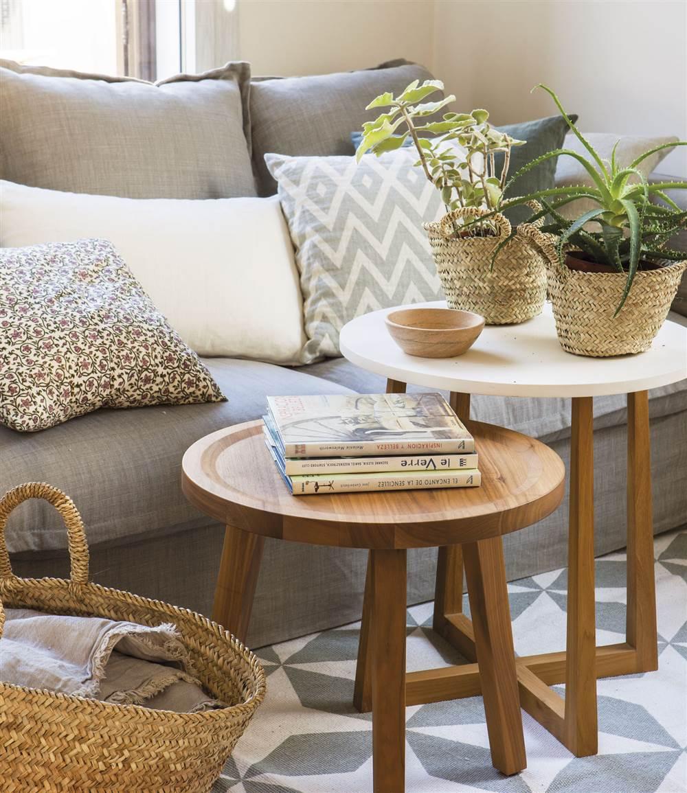 10 ideas para renovar la decoraci n de tu casa en oto o - Alfombras de madera para salon ...