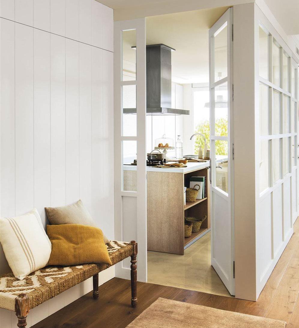 10 ideas para renovar la decoraci n de tu casa en oto o for Puertas madera y cristal interior