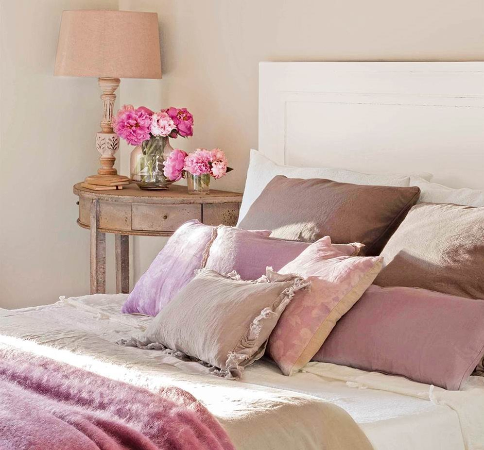 Un dormitorio con cinco estilos diferentes ¿Cuál te gusta  ~ Quarto Verde Malva