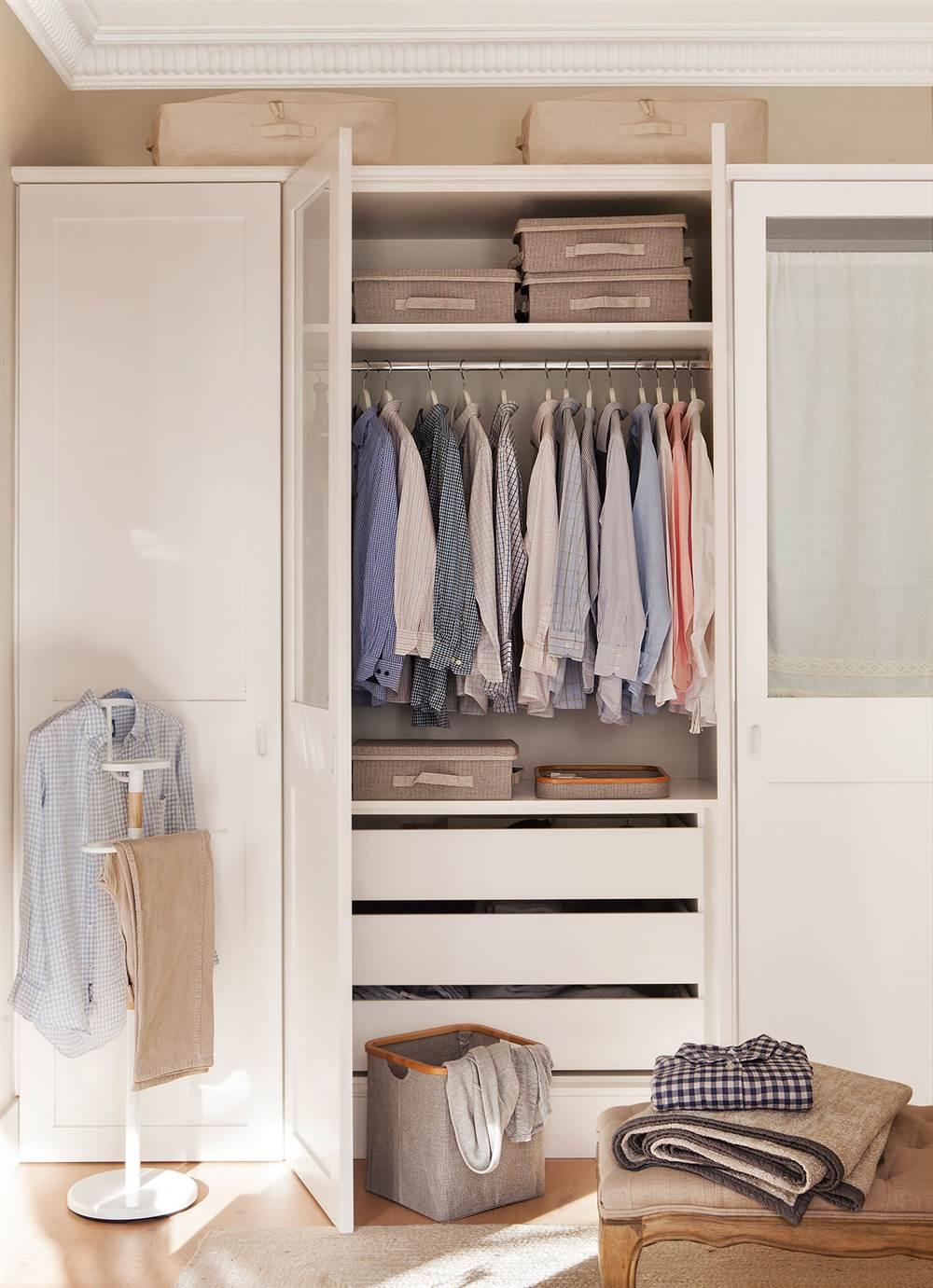 Armario De Ropa Interior : C?mo organizar bien el armario