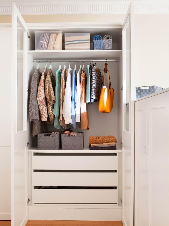 Armarios roperos a medida affordable muebles de melamina for Planos closet melamina pdf