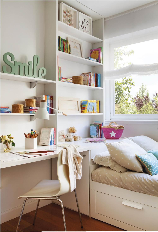 Soluciones de orden para las paredes - Estanterias para dormitorios ...
