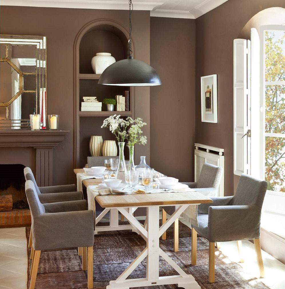5 espacios mini que lo tienen todo - Muebles grises paredes color ...