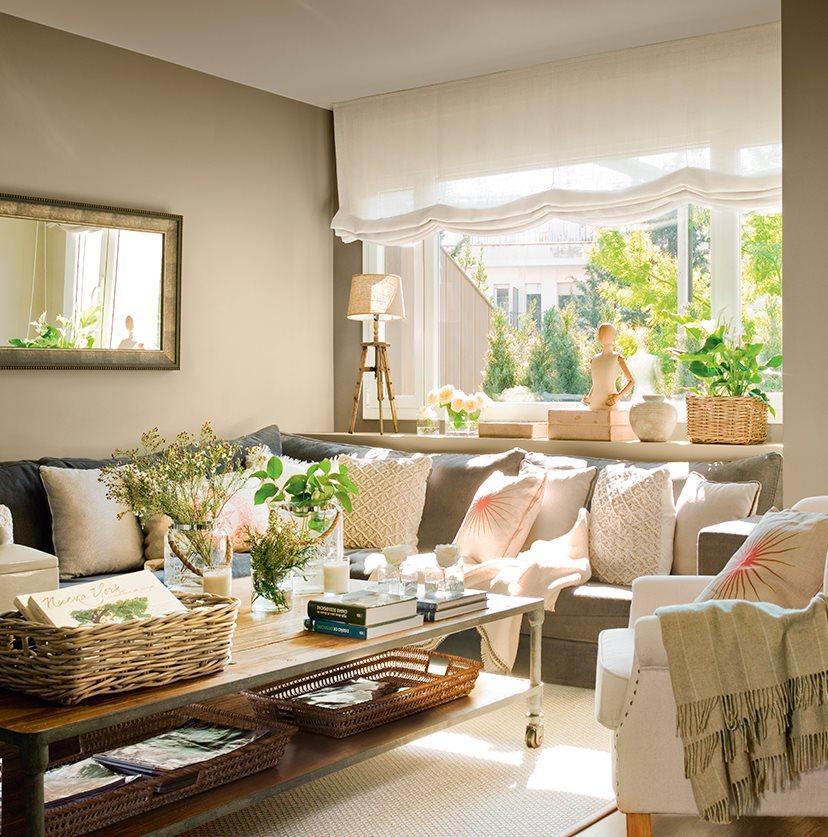 5 espacios mini que lo tienen todo for Decoracion mueble salon