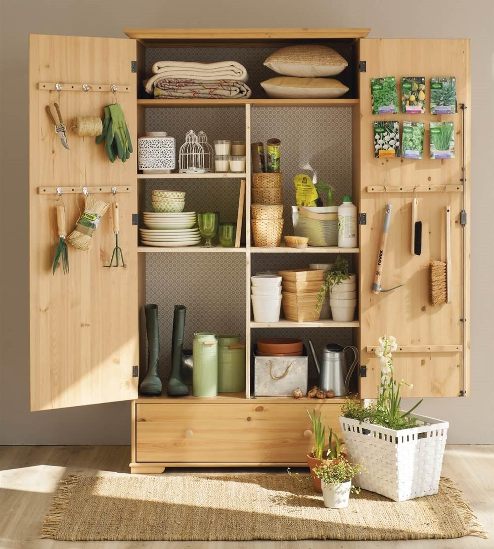 C mo personalizar un armario low cost - Lavadero easy ...