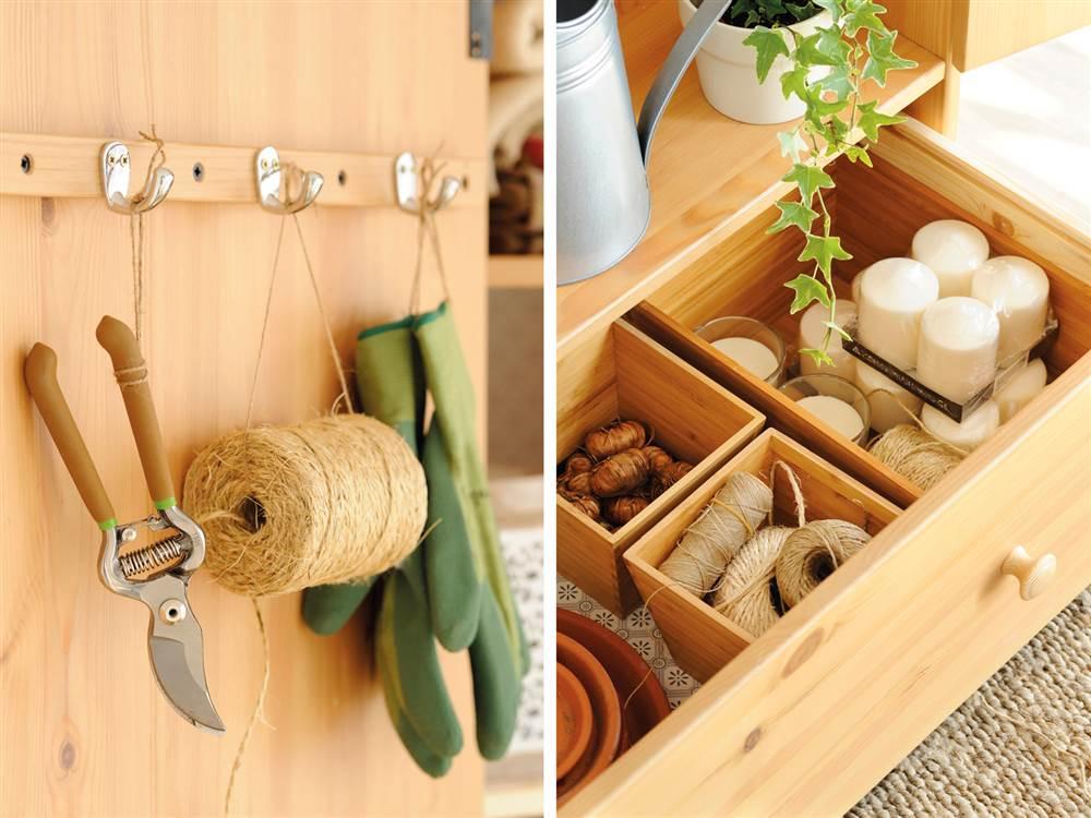 C mo personalizar un armario low cost for Objetos de jardineria