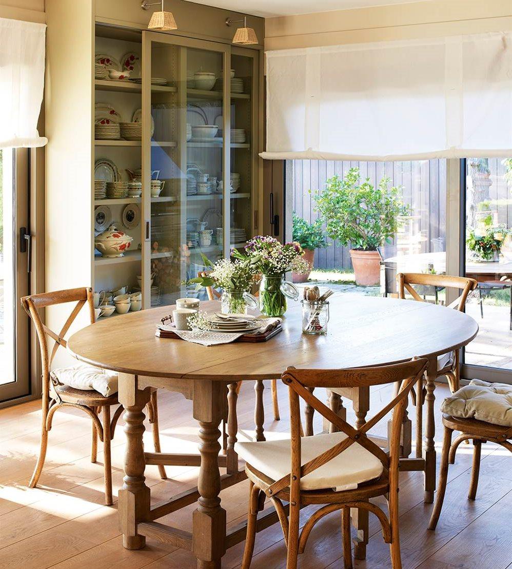 Consigue el comedor perfecto - Comedores mesa redonda ...