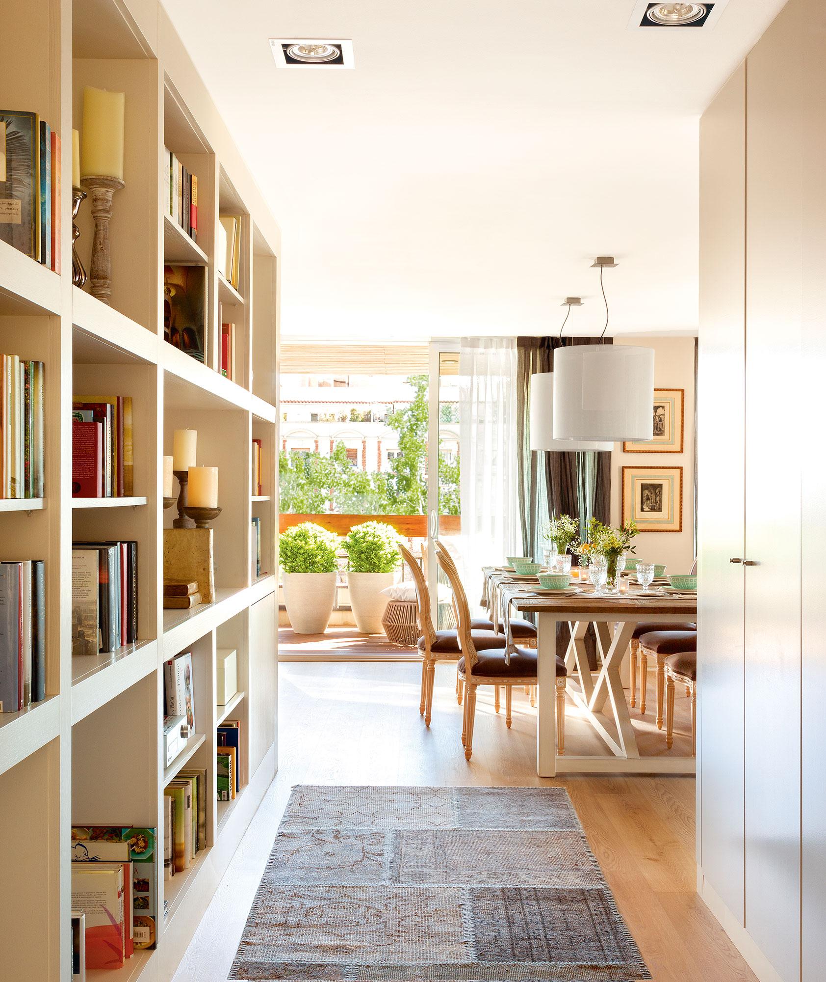 Librer as a medida para toda la casa for Librerias clasicas para salon