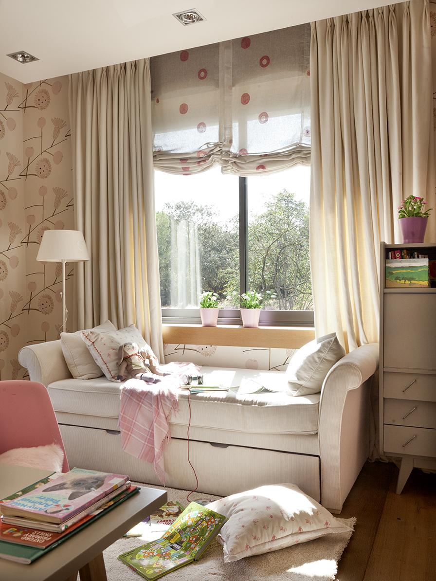 El dormitorio ideal para las ni as for Dormitorio nina blanco