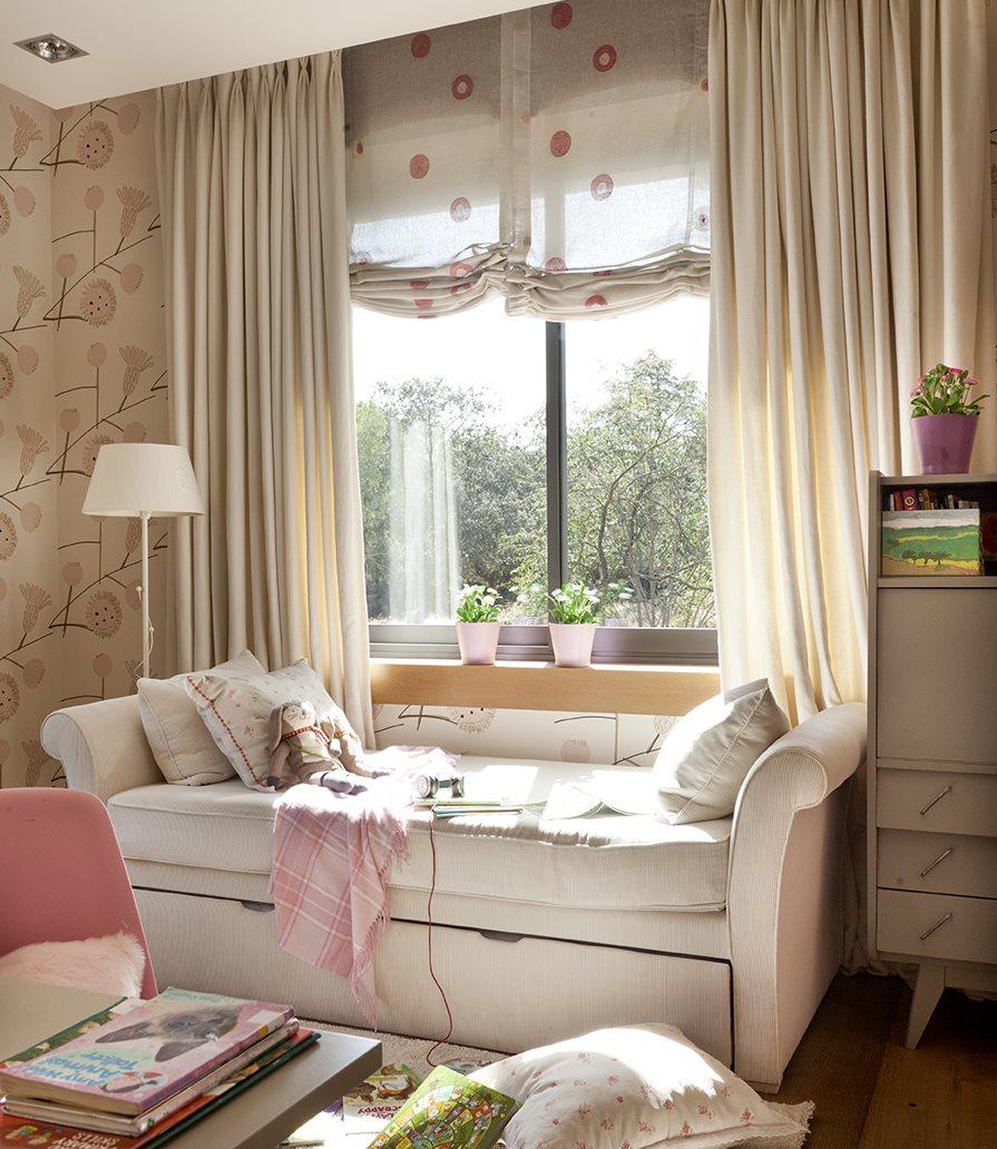 El dormitorio ideal para las ni as - Sillon para dormitorio ...
