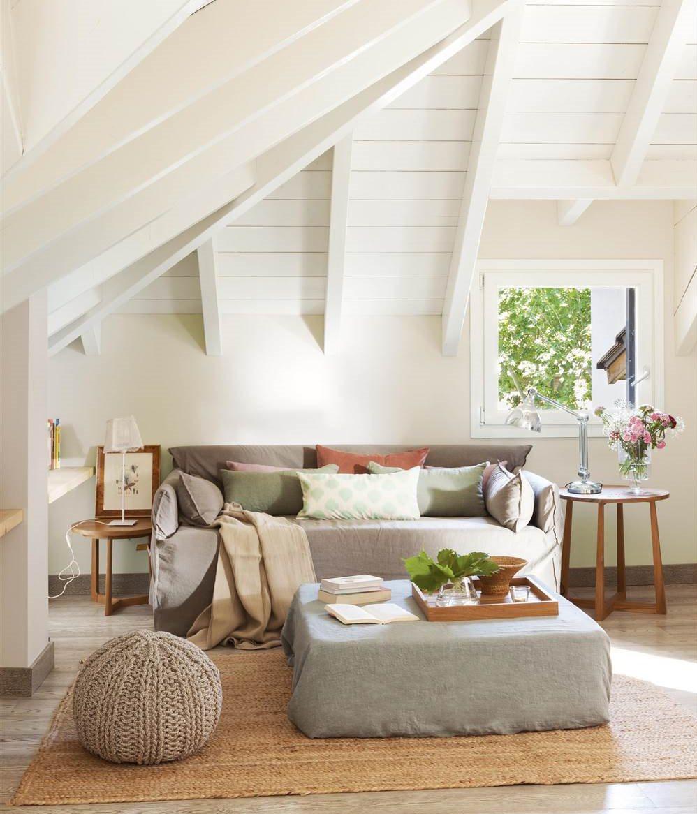 Tu casa influye en tu mente los espacios afectan al cerebro - Puff para salon ...