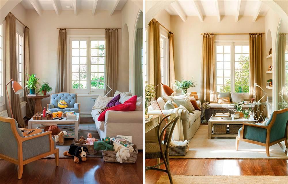 Resultado de imagen de casas desordenadas antes y despues
