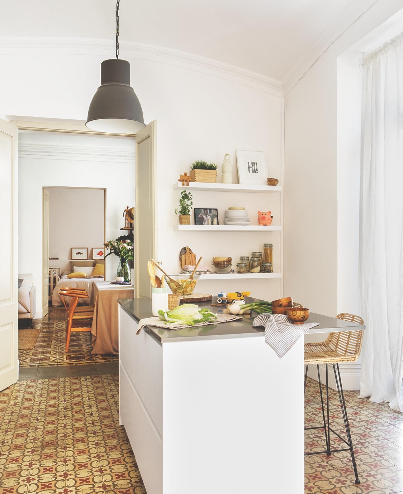 Sofá Soft Rock proyecto de interiorismo Gems Barcelona - cocina 3