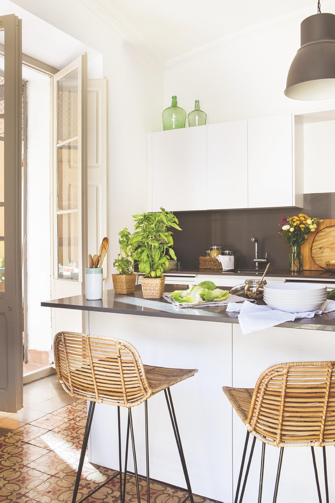 Sofá Soft Rock proyecto de interiorismo Gems Barcelona - cocina