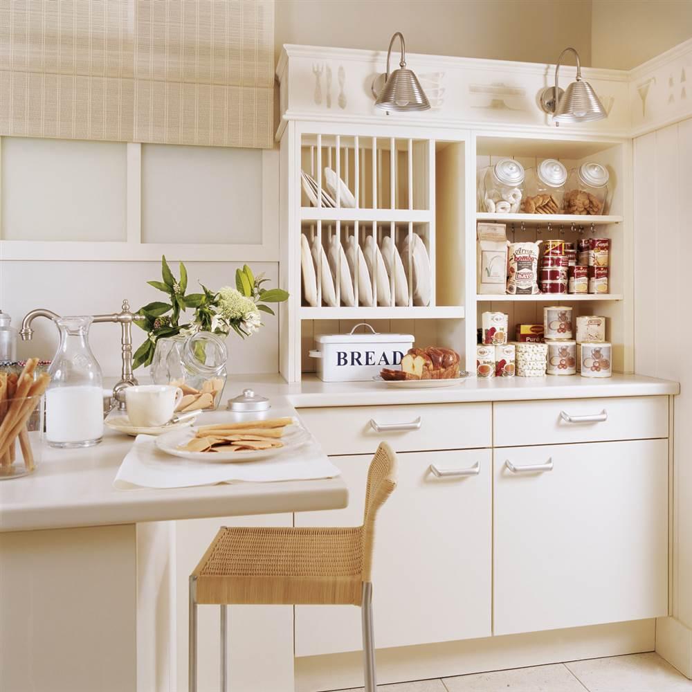 50 consejos para ahorrar en casa for Despensas de cocina