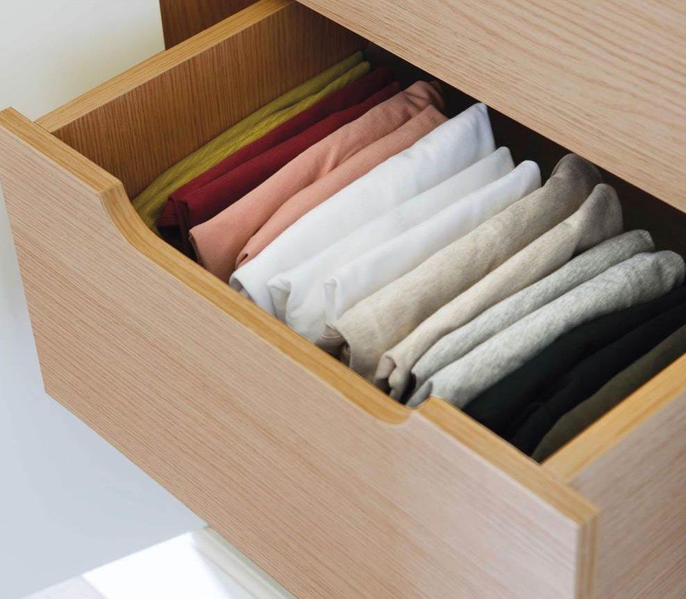 C mo ordenar el armario - Marie kondo doblar ropa ...