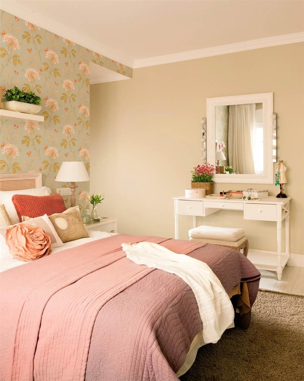 C mo distribuir el dormitorio para ganar espacio y dormir - Dormitorio verde ...
