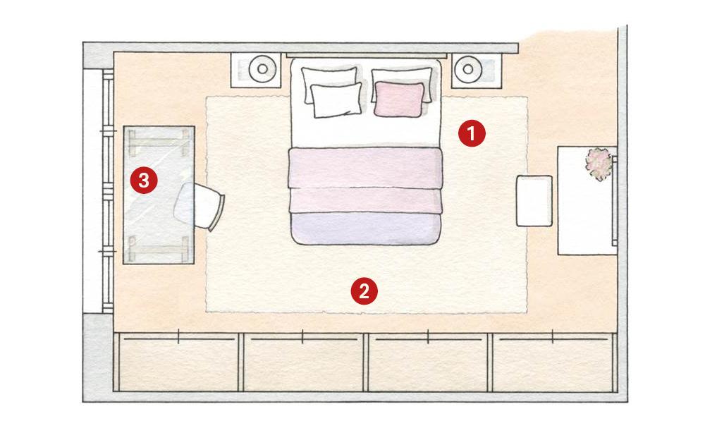 c mo distribuir el dormitorio para ganar espacio y dormir On hacer plano habitacion online