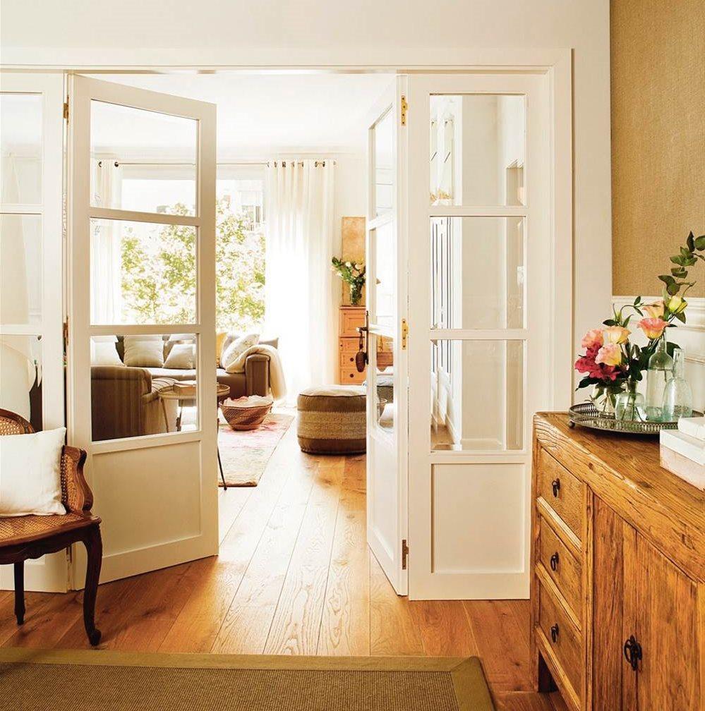 La distribuci n ideal para el recibidor claves y medidas for Casas modernas con puertas antiguas
