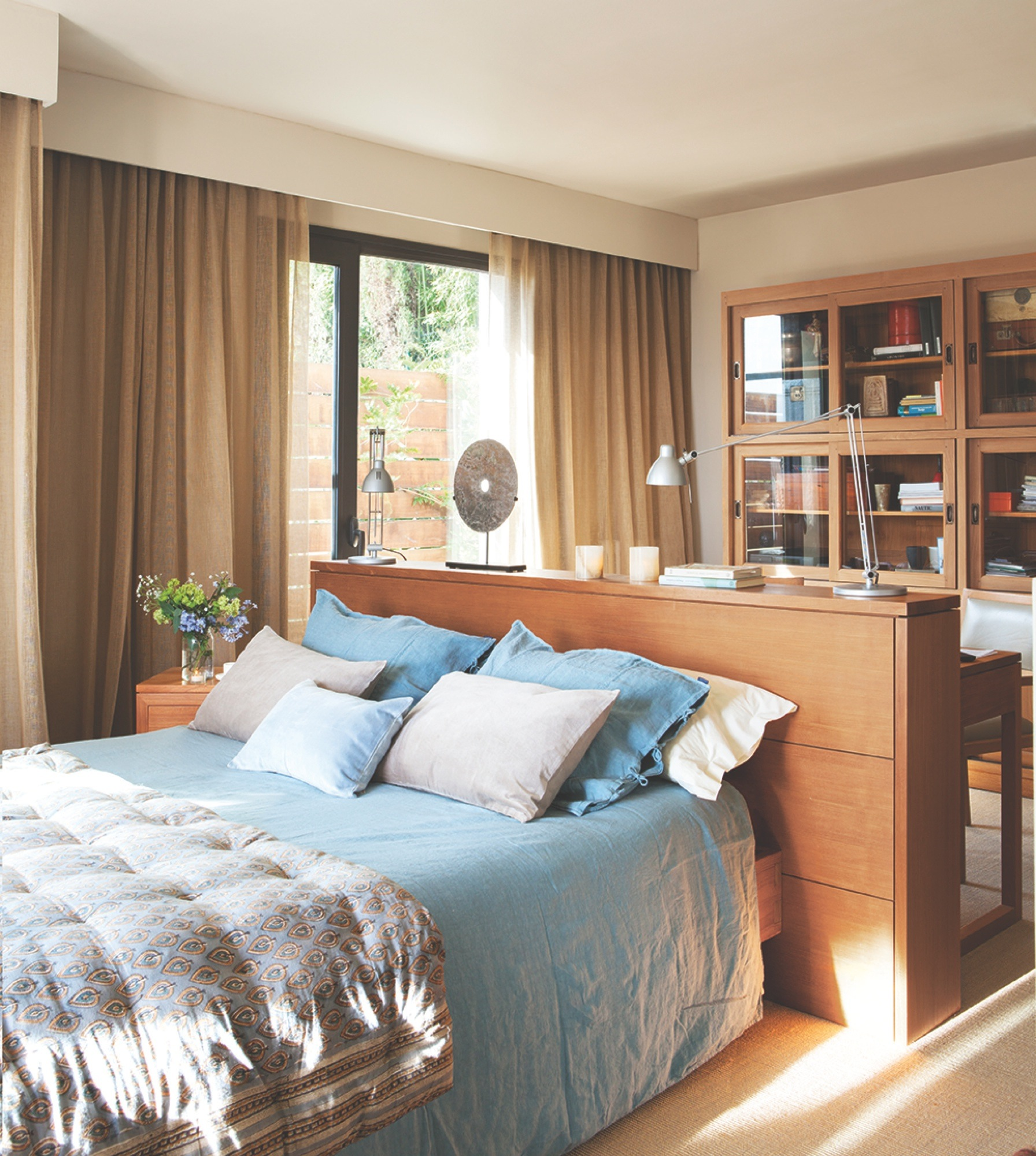 20 Dormitorios Con Muchas Ideas # Muebles Teca Interior