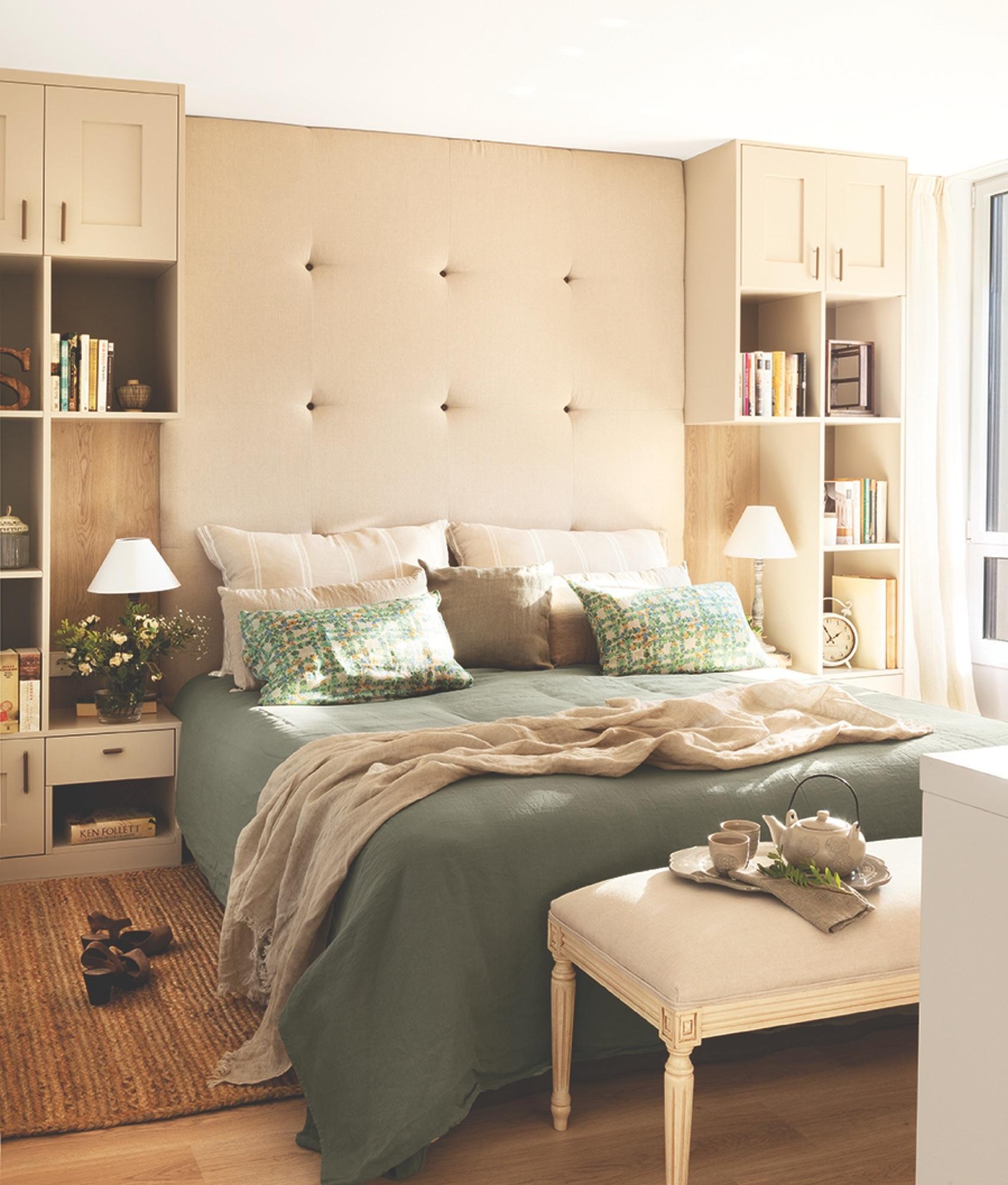 20 dormitorios con muchas ideas for Decoracion librerias