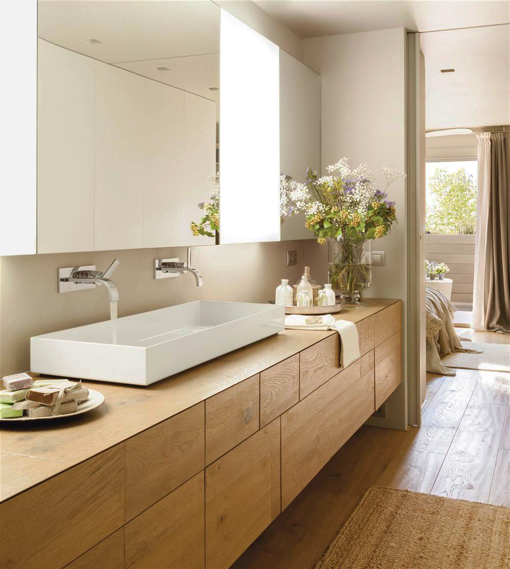 10 ideas para renovar la decoraci n de tu casa en oto o for Muebles de bano con encimera