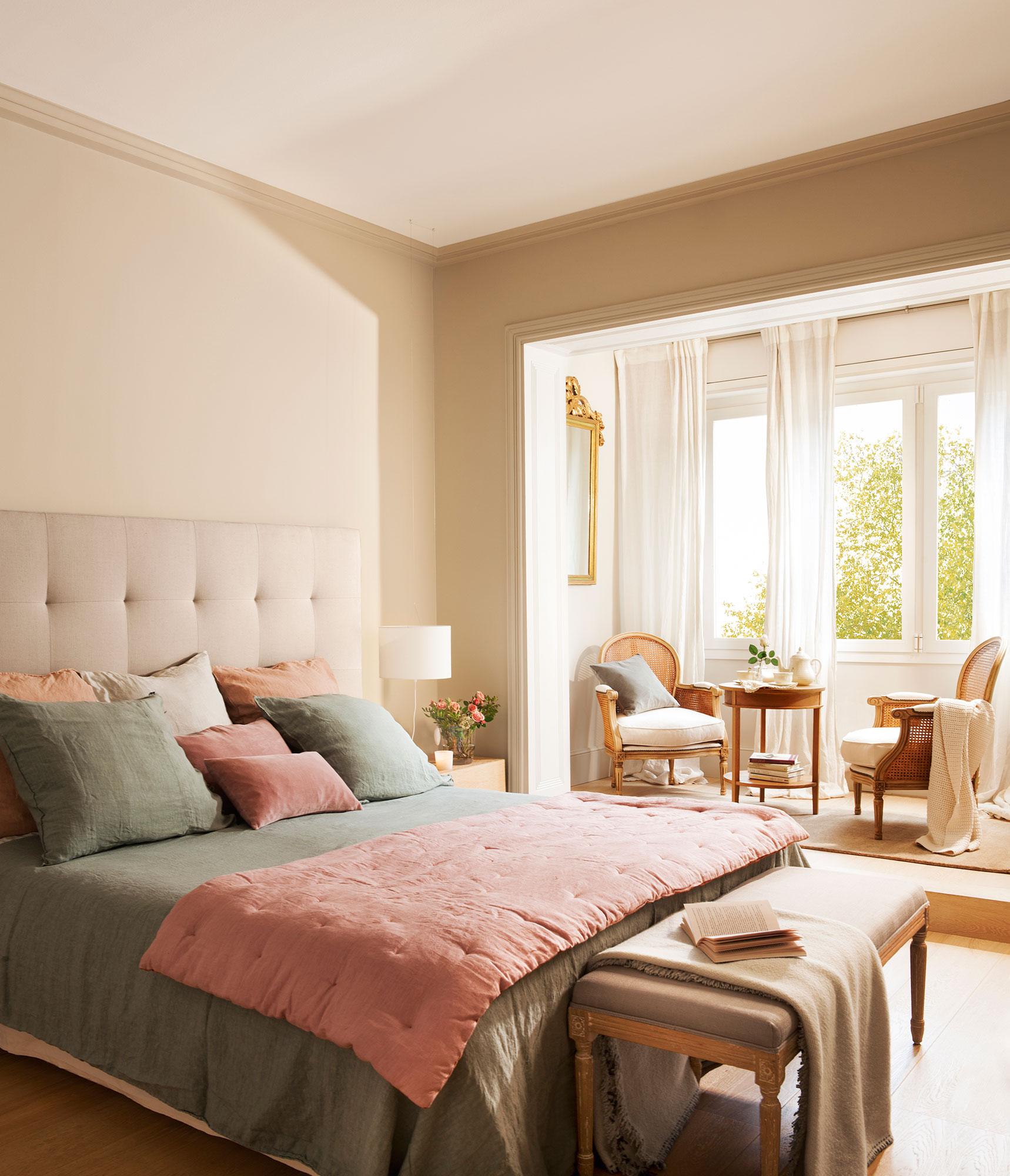 20 dormitorios con muchas ideas for Decoracion de habitaciones principales
