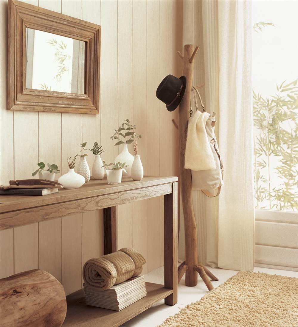 Diez ideas de decoraci n para preparar tu recibidor para - Decoracion de recibidores y entradas ...