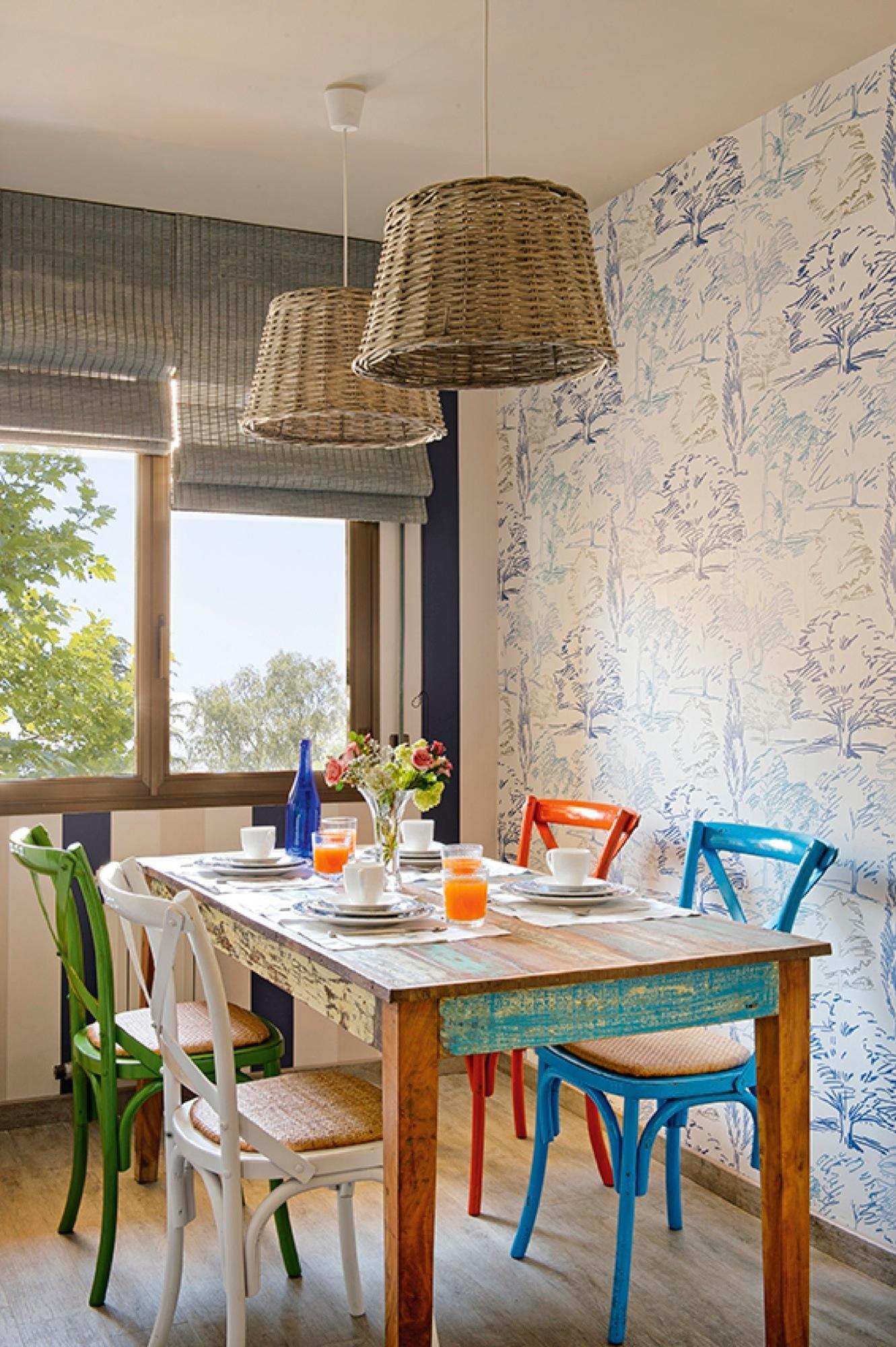 Decora tu casa con papel pintado for Papel pintado para pintar castorama