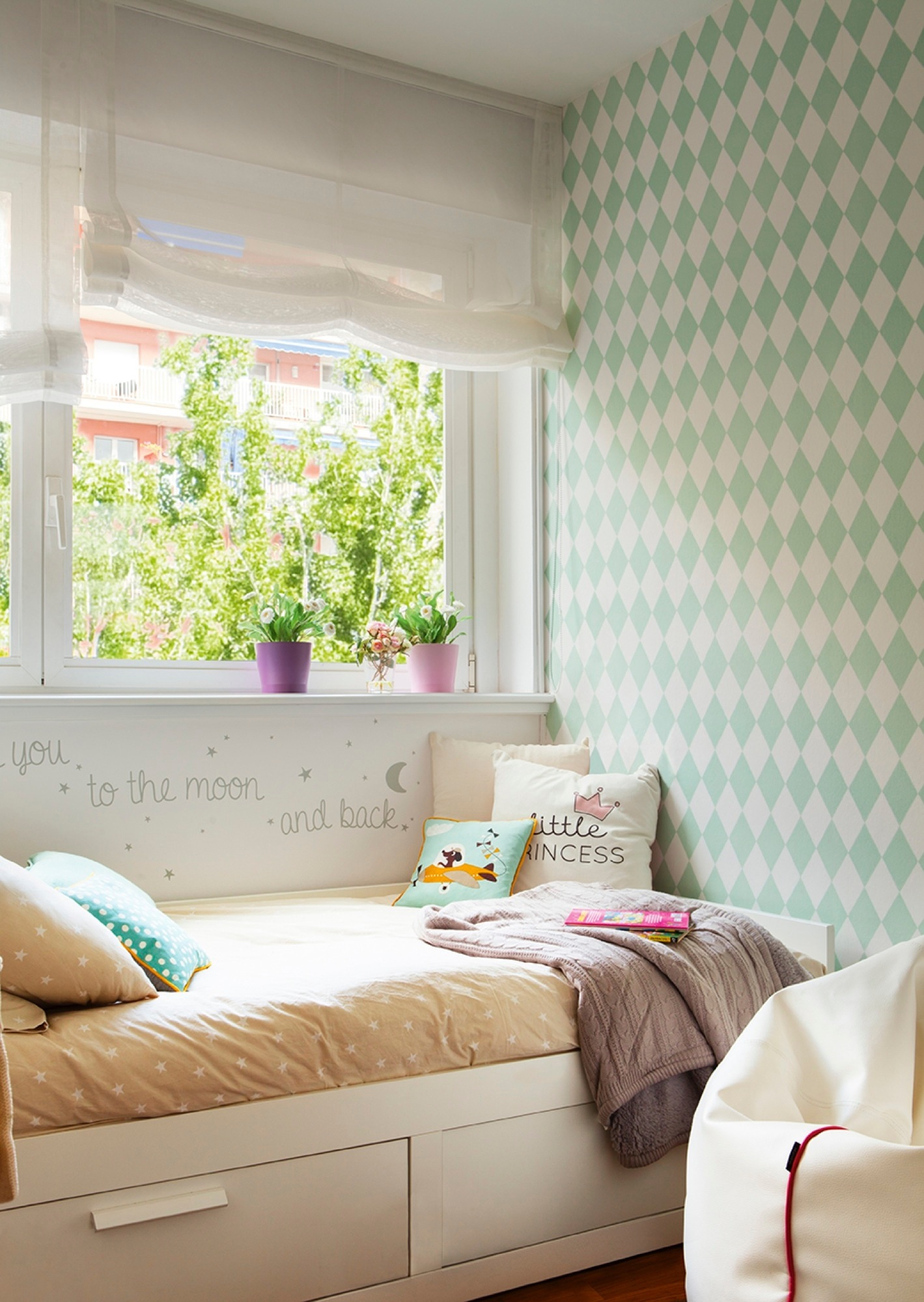 Decora tu casa con papel pintado for Decoracion dormitorios infantiles