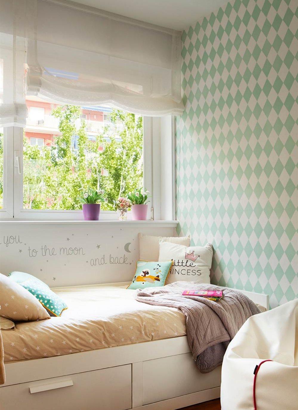 Decora tu casa con papel pintado for Papeles para empapelar dormitorios