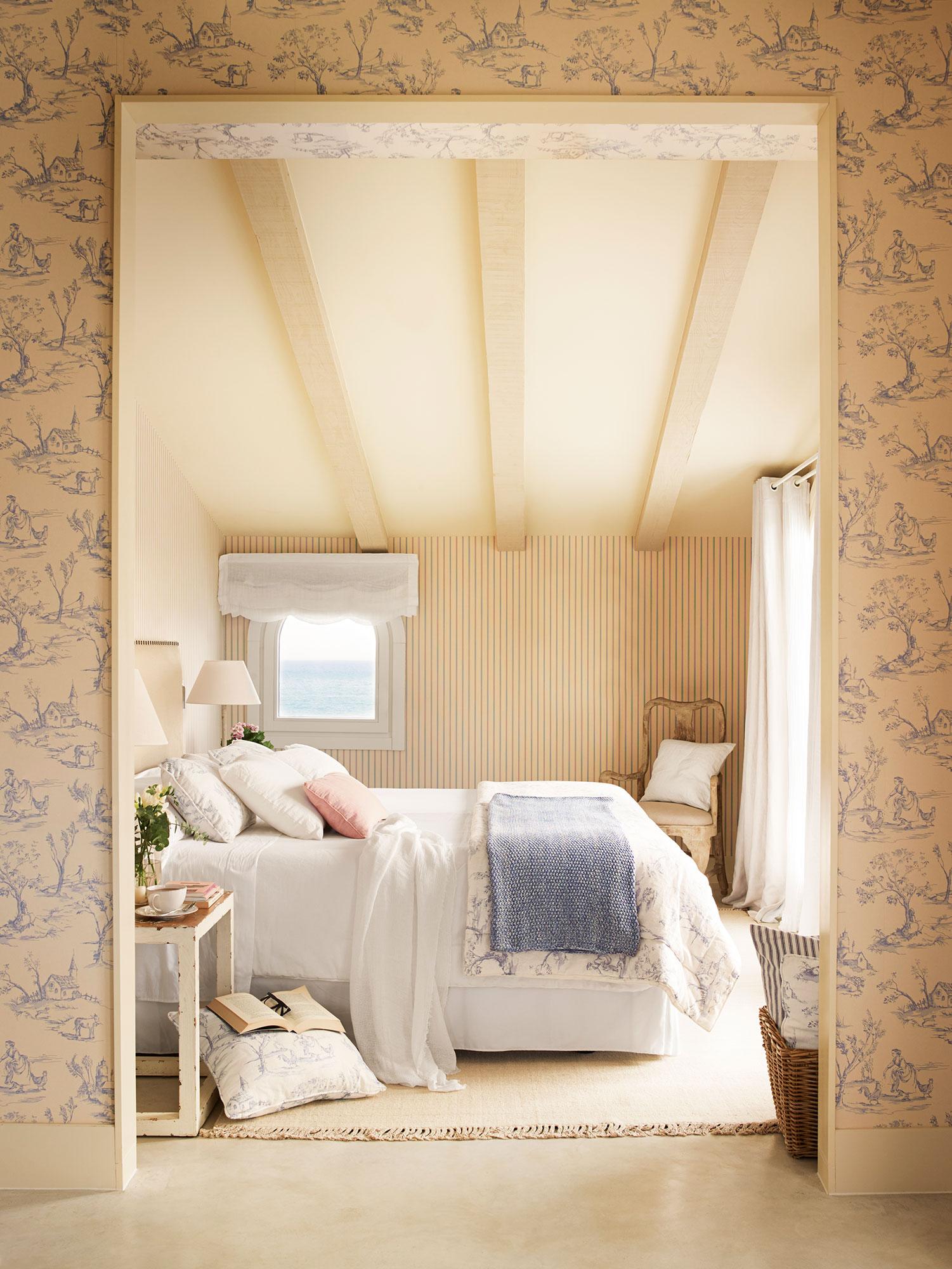 Una casa m s sana 10 soluciones a 10 errores decorativos - Papeles pintados dormitorios ...