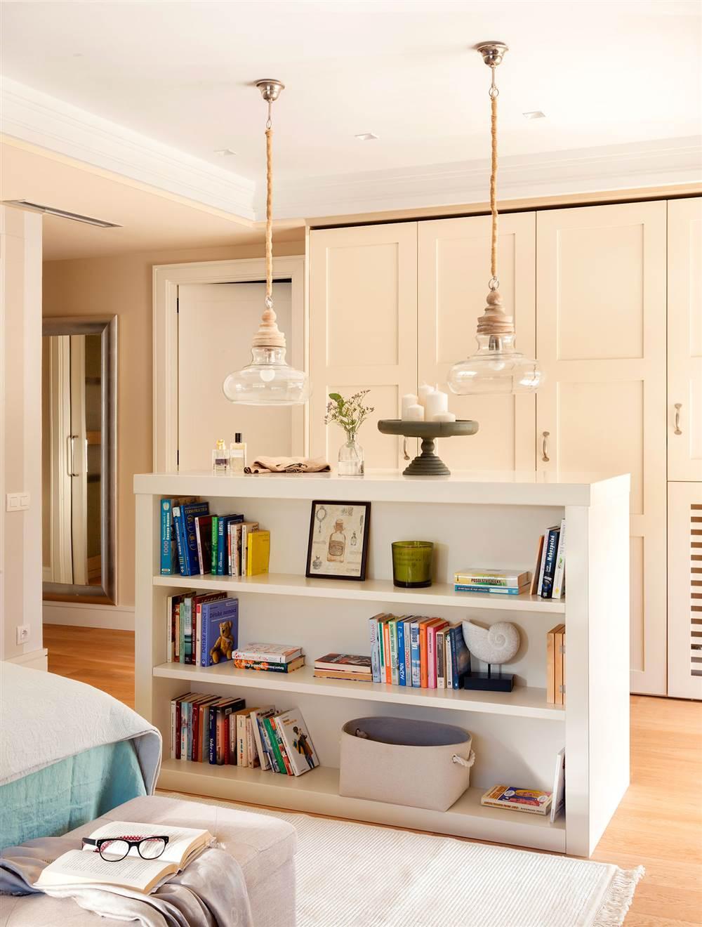 10 Librerias Practicas Y Decorativas Para Toda La Casa - Estanterias-para-dormitorios