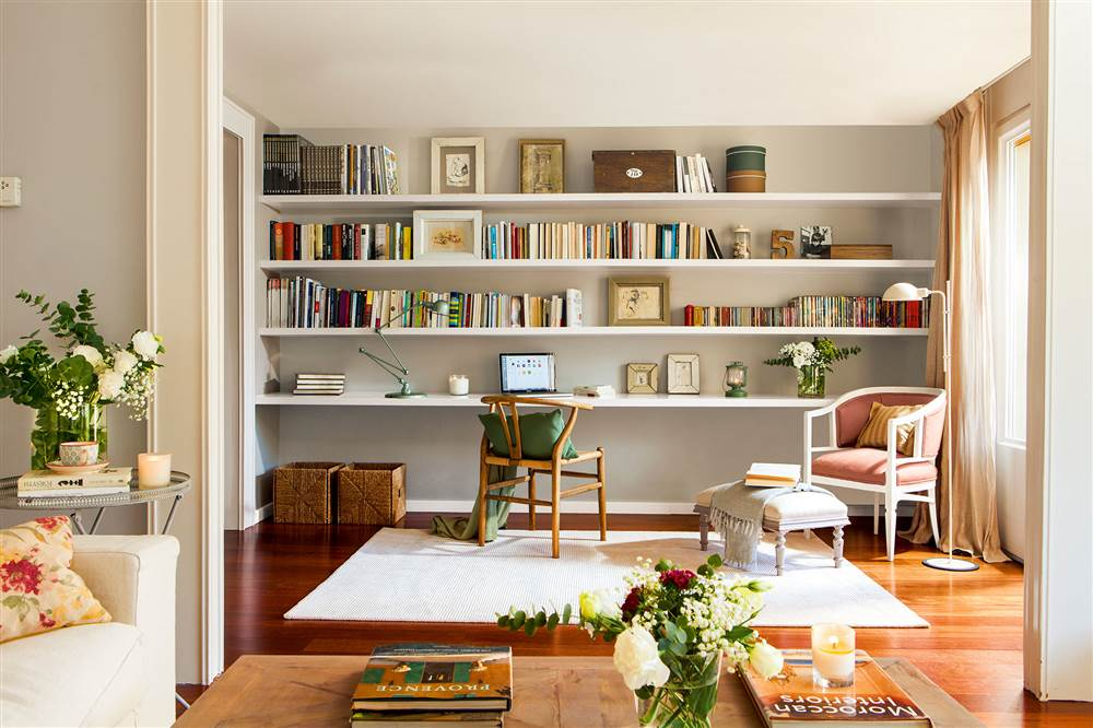 10 librer as pr cticas y decorativas para toda la casa for Balda muebles