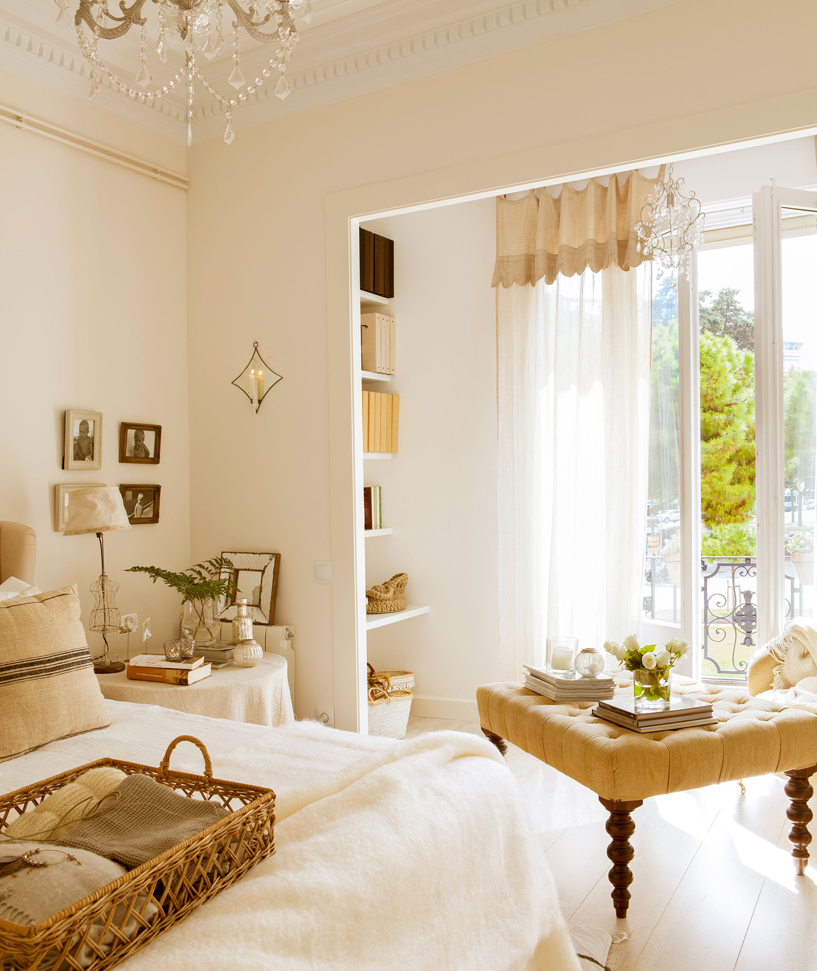Lamparas para dormitorios pantalla ropita para lmpara de - Lamparas para dormitorios ...