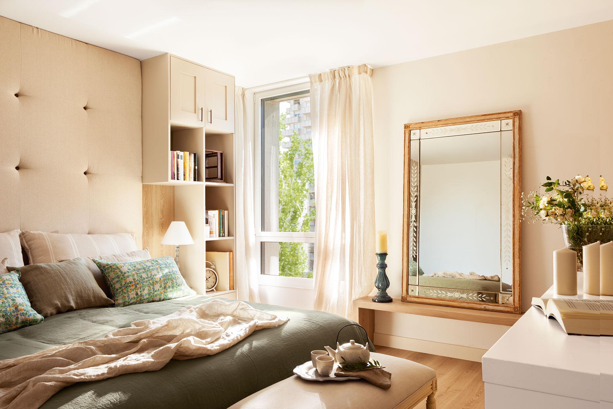 9 ideas para multiplicar la luz del dormitorio - Cabeceros con luz ...