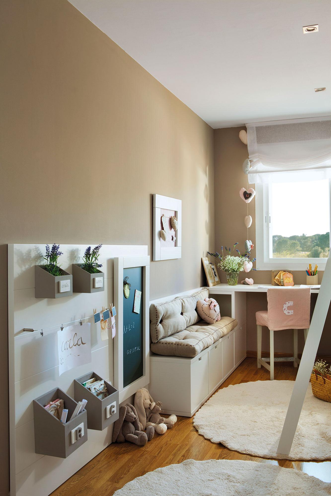 2 habitaciones infantiles bien aprovechadas que multiplican los metros - Pintar dormitorio infantil ...