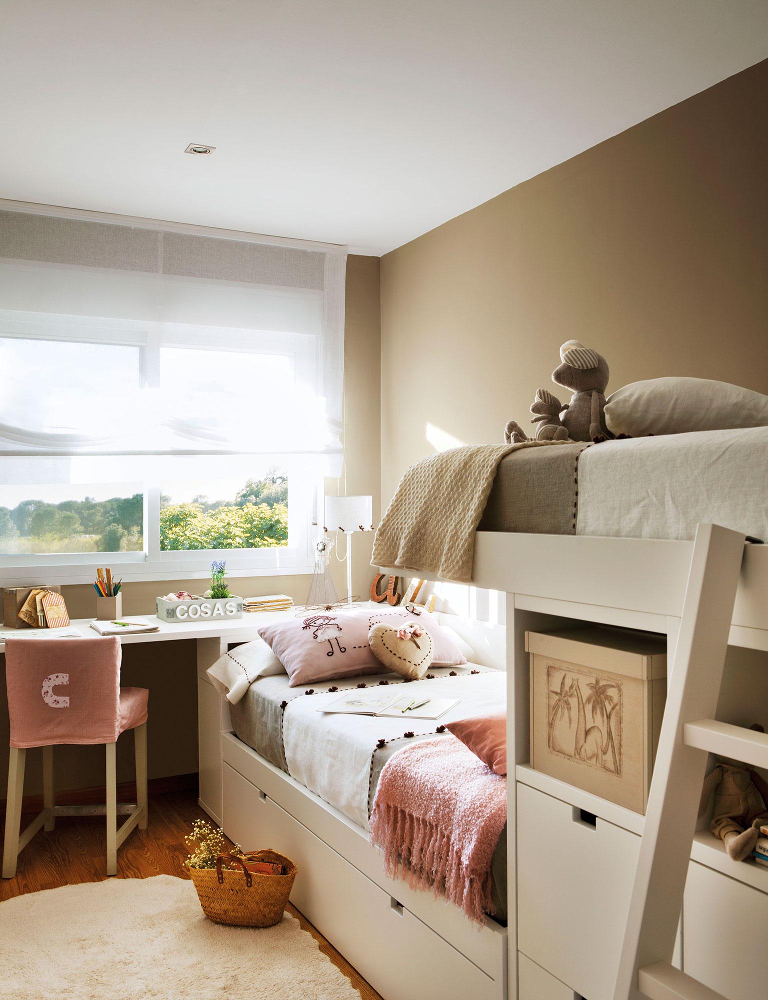 2 habitaciones infantiles bien aprovechadas que - Habitaciones infantiles decoracion paredes ...
